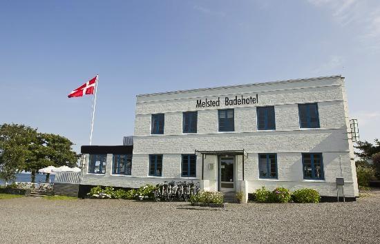 Melsted Badehotel in Gudhjem, Bornholm, Denmark