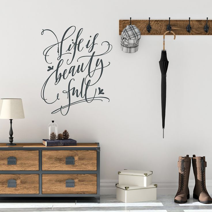 Old Barn Rescue - Life is beautiful quotes   Inspirational Wall Decals   Hand Drawn, $20.00 (http://oldbarnrescue.com/life-is-beautiful-quotes-inspirational-wall-decals-hand-drawn/)