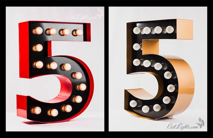 EastLights.com - All about design and manufacture unique lamps & lights! http://eastlights.com #marquee #letters #eastlights.com #bulblights #cinemalightbox