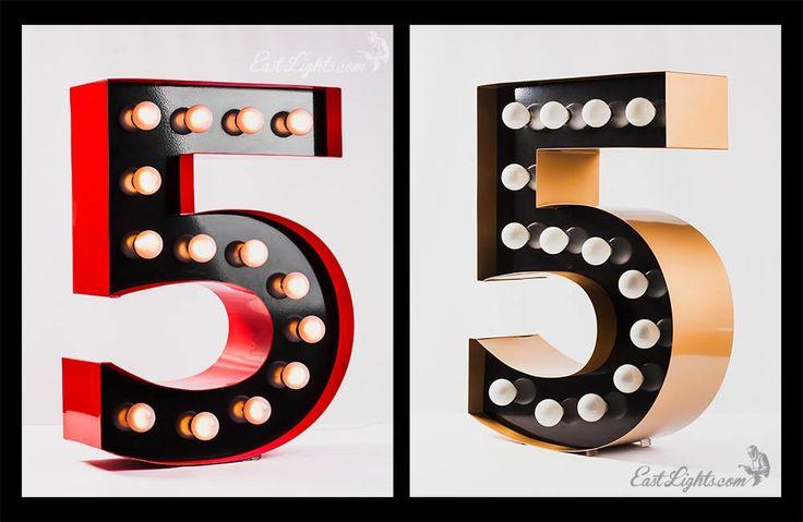 EastLights.com - All about design and manufacture unique lamps & lights! http://eastlights.com #marquee #letters #eastlights.com #bulblights #cinemalightbox
