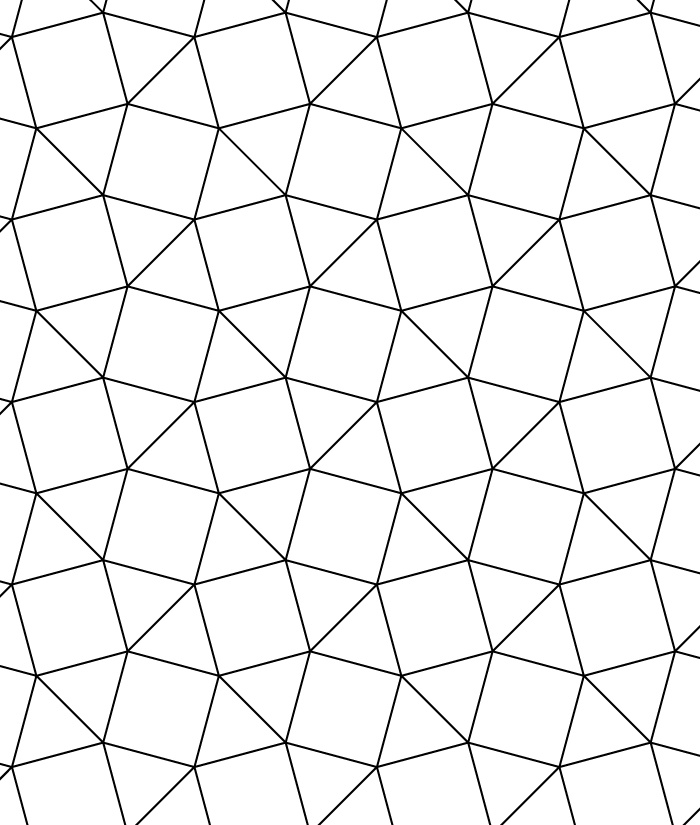 tessellating shapes templates - 3 3 4 3 4 tessellation teaching ideas pinterest