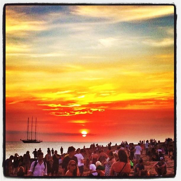 """@moral83's photo: """"Puesta de sol, San Antonio, Ibiza"""""""