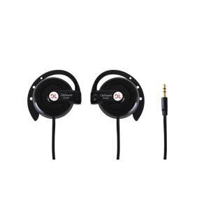 Fone de Ouvido DL - FN007 , com gancho ajustável para orelha linha Citysound - Preto