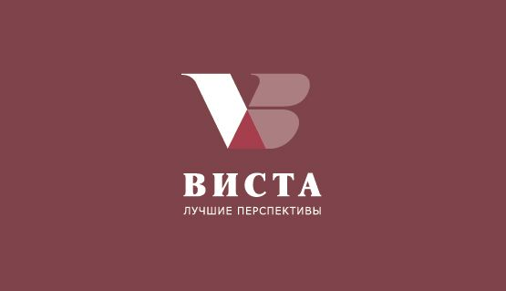 """Логотип для компании """"Виста""""."""