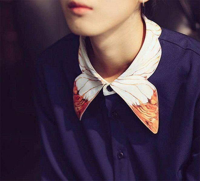 Autour du cou, ces 20 cols de chemise créatifs offrent une très belle attract !