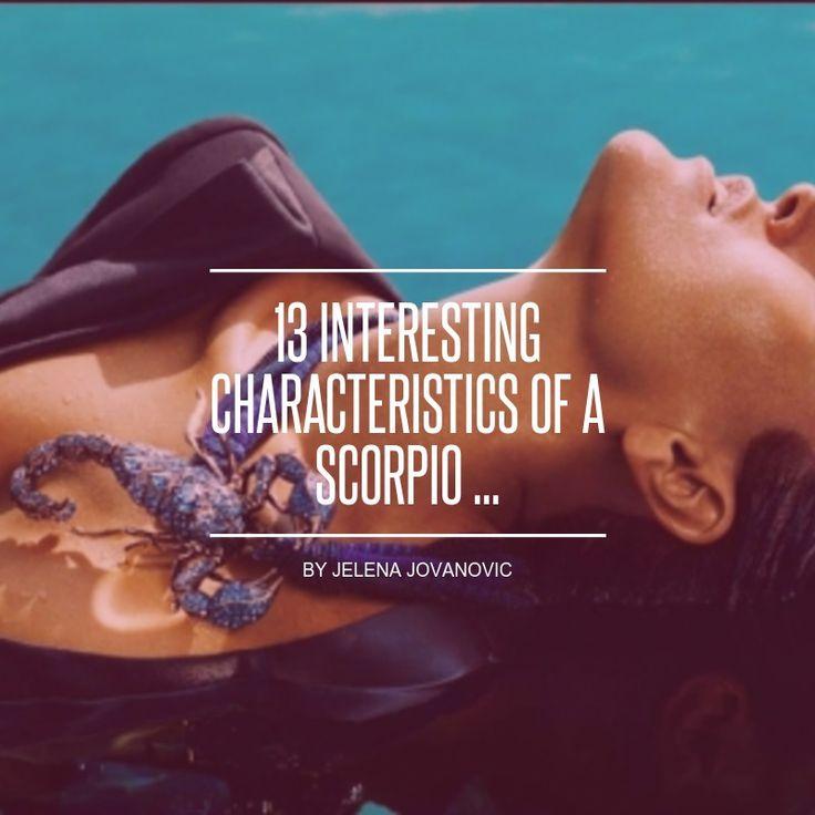 13 #Interesting Characteristics of a Scorpio ... - #Lifestyle