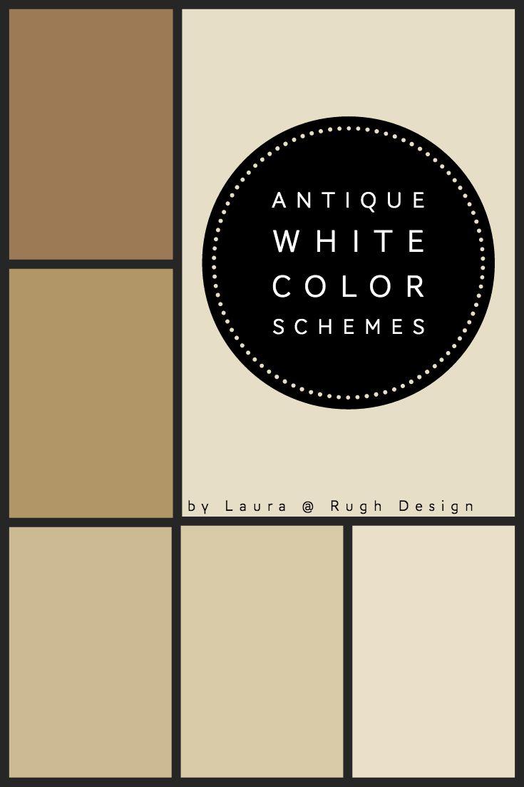 Color Scheme For Antique White Sw 6119 Antique White Color