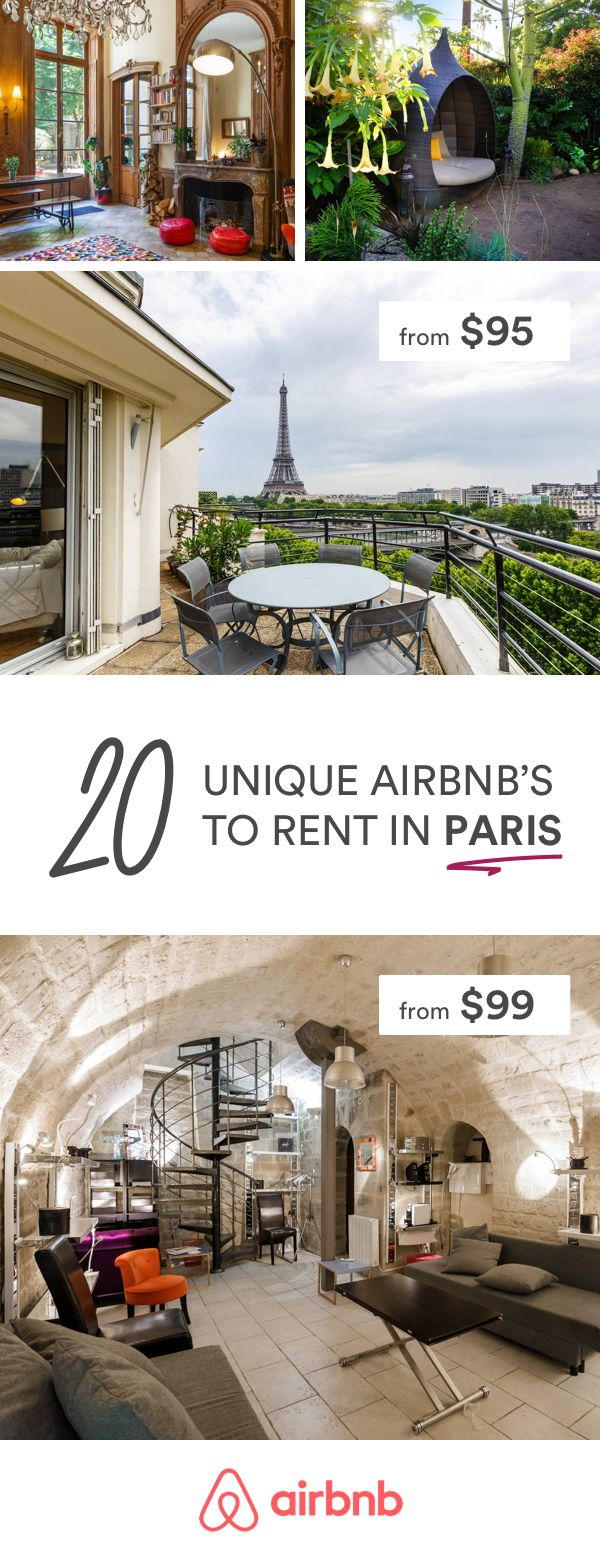 Airbnb's we think you'd like in Paris.