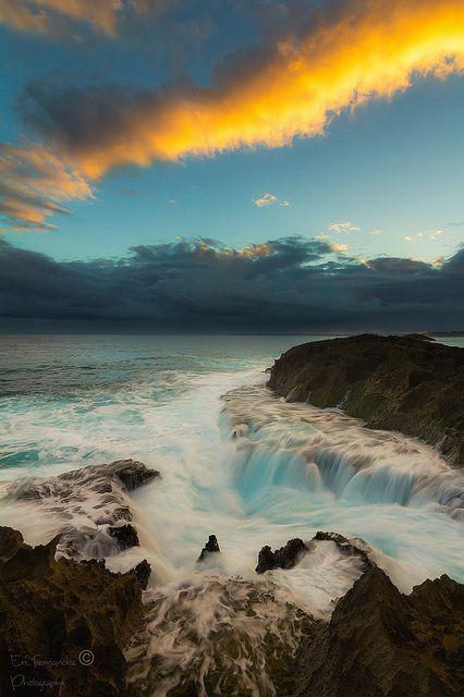 Orange Cloud, Manati, Puerto Rico.
