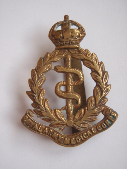 Royal Army Medical Corps R A M C Cap Badge Uniforms