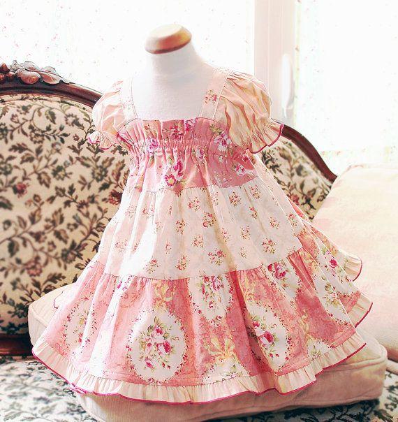 Toddler Easter Dress Girl Toddler Gift Handmade Toddler Dress by BerryPatchUSA #handmade #easter #gift #dress #girls
