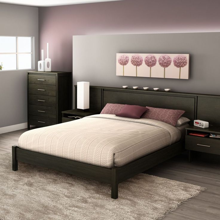 dark wood furniture with enticing teal paint to brighten up the bedroom guest room bed wood furniture
