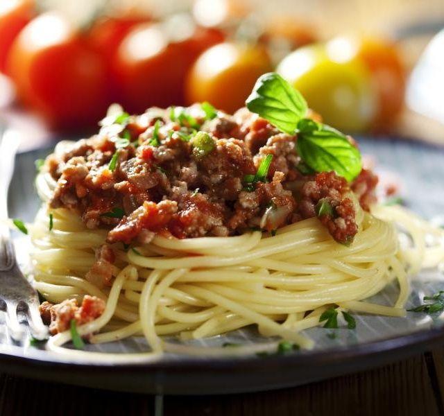 Recept Boloňské špagety s mletým masem