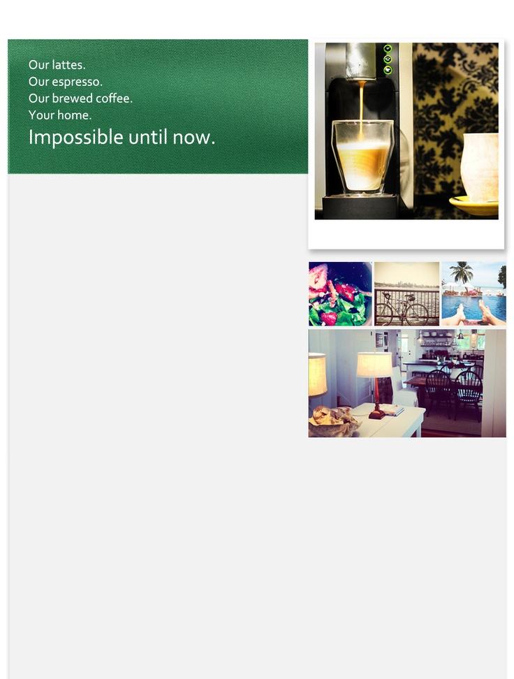 Starbucks lovely Verismo System