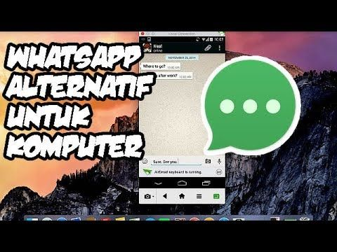 Solusi Lain Aplikasi Buka Whatsapp Di Komputer Pc Windows Linux Mac Os
