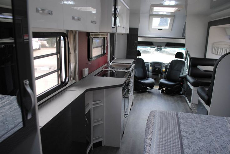 The Torquay offers a variety of colour options throughout the motorhome including upholstery colours, benchtops, splashbacks, external decals to name a few. See more information on our website - https://www.avidarv.com.au/motorhomes/torquay
