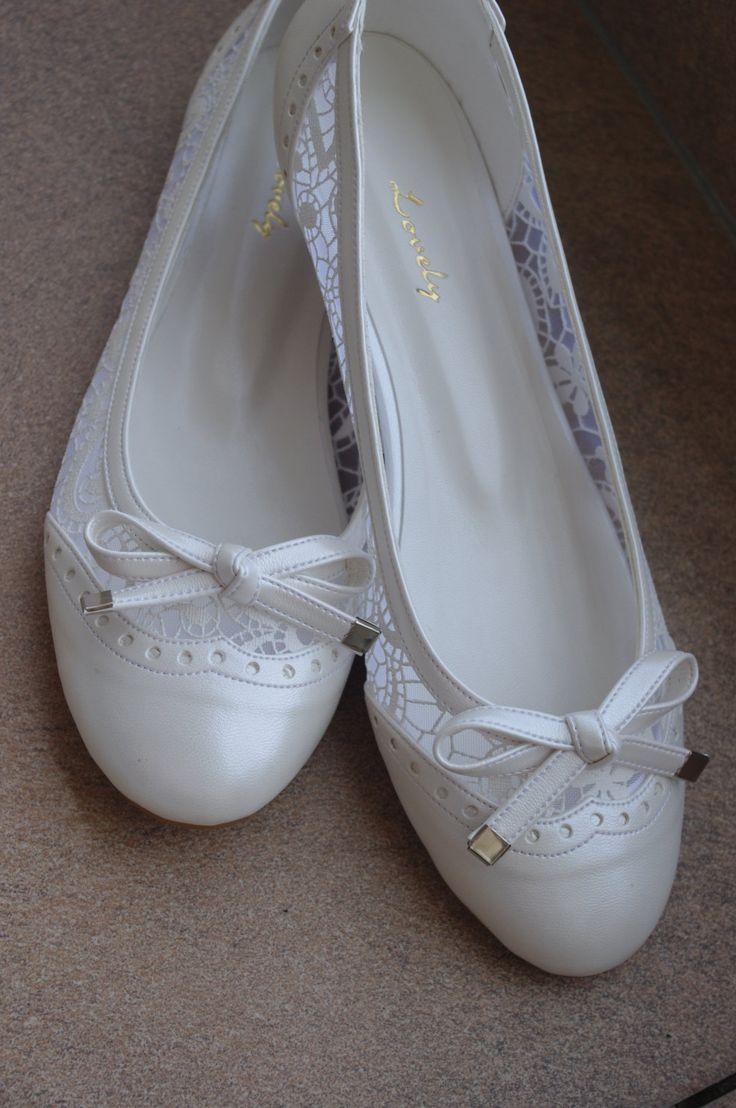 41 best Flache Brautschuhe | Flat Bridal Shoes images on Pinterest ...