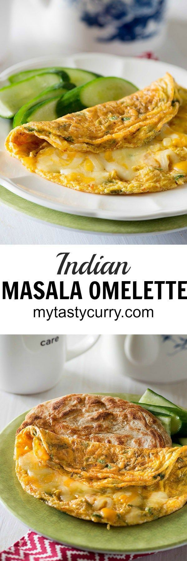 Indian Masala omelette recipe perfect for breakfast, lunch or even dinner. Eat the masala omelete on its own, or add vegetables, spices, and cheese of your choice to make it even better. Masala omelette is the easiest meal on go for me and mostly serve it up with a side of veggies either stirred or simple green salad. WhenI am feeling more indulgent, A crispy paratha along with it serves the purpose alright.