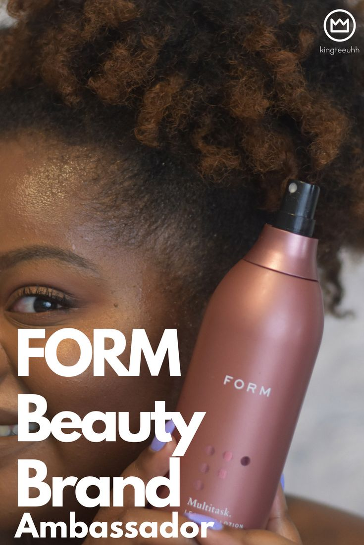 FORM Beauty is a new hair care brand that truly celebrates ALL textures and focuses on optimizing hair health with great ingredients.   FORM gets personal with your hair care by providing a personal FORM regimen once you complete their FORM Consultation…and it's FREE! Visit www.kingteeuhh.com for more information.  #FORMBeauty #beautyambassador #brandambassdor #haircare #naturalhair #FORM #bestofthebest