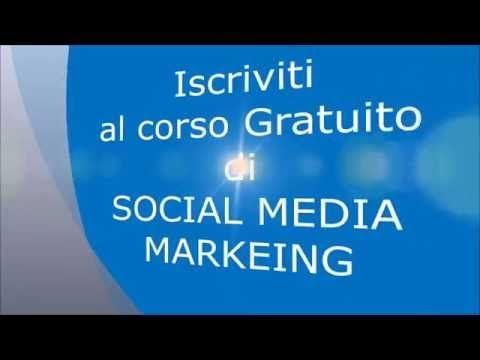 corso social media marketing Gratuito