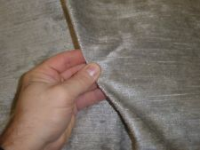 SILVER GREY - Chunk Rustic Velvet Chenille Upholstery Fabric