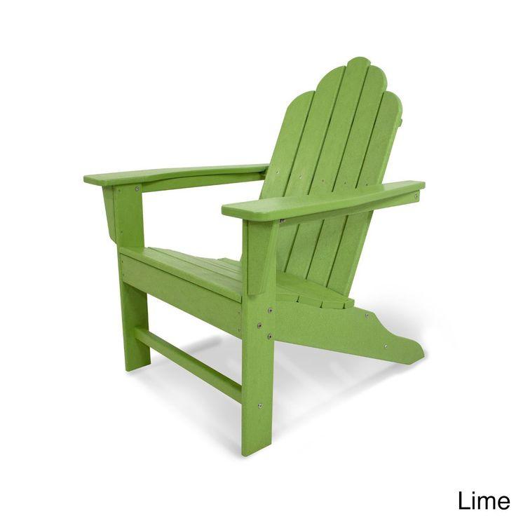 Long Island Polywood Adirondack Chair (Aruba), Blue, Size Single, Patio  Furniture (Plastic) Part 55