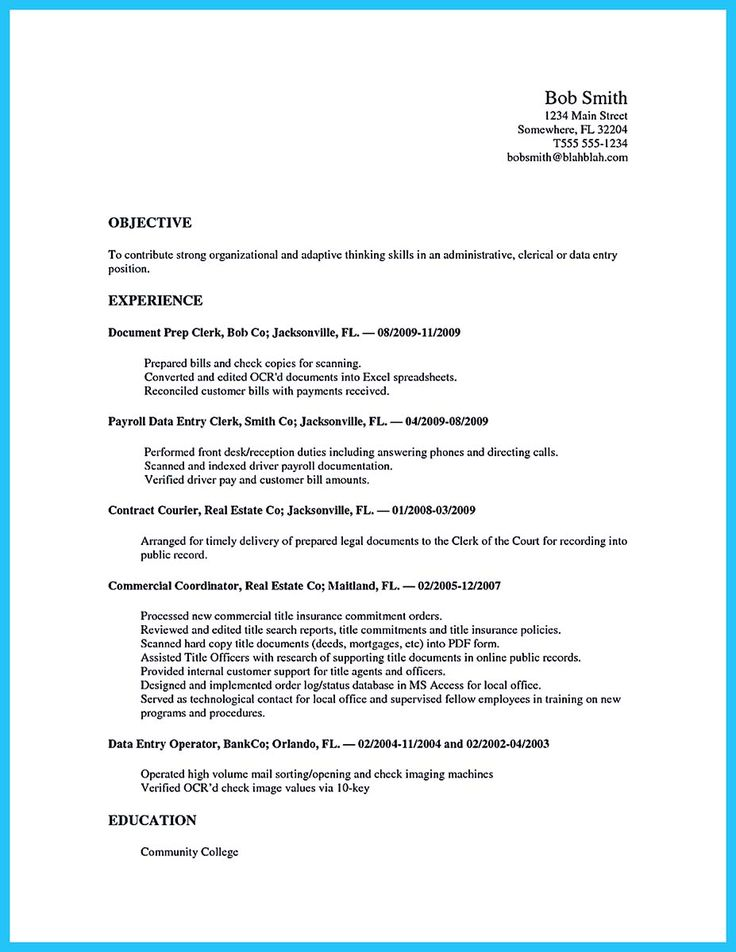 sample resume for job in australia