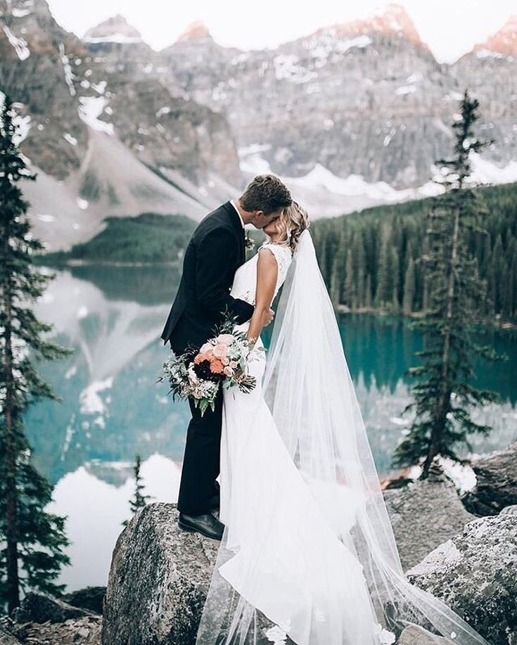 """5,969 Likes, 45 Comments - WeddingWire (@weddingwire) on Instagram: """"Marry the one who gives you that on top of the world feeling! {Photo: @dukemoose}"""""""