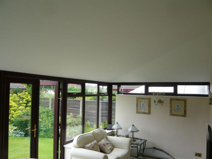 Our conservatory roof insulation helps you enjoy your conservatory as a proper living space!