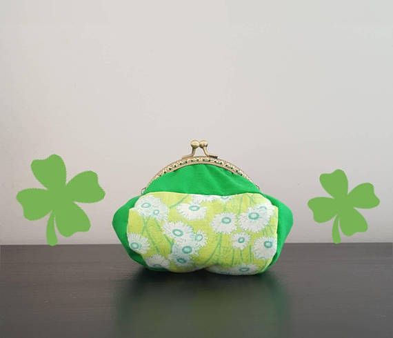 Hey, I found this really awesome Etsy listing at https://www.etsy.com/listing/597319983/handmade-green-small-coin-purse-bag