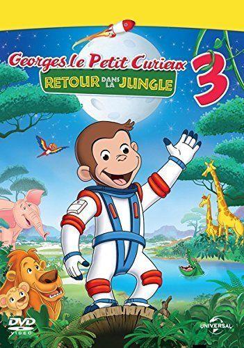 George le petit curieux 3 : Retour dans la jungle - DVD