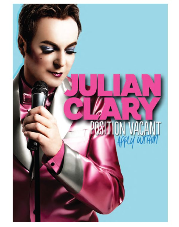 Julian Clary - sparkling wit - Lovely man