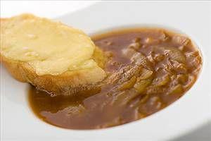 39 calories-5 servings (1/2 recipe). Homemade Onion Soup - Recipe Details