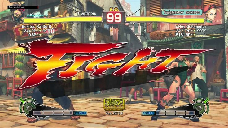 Super Street Fighter 4 Arcade Edition - Online Match vs Colomeitor