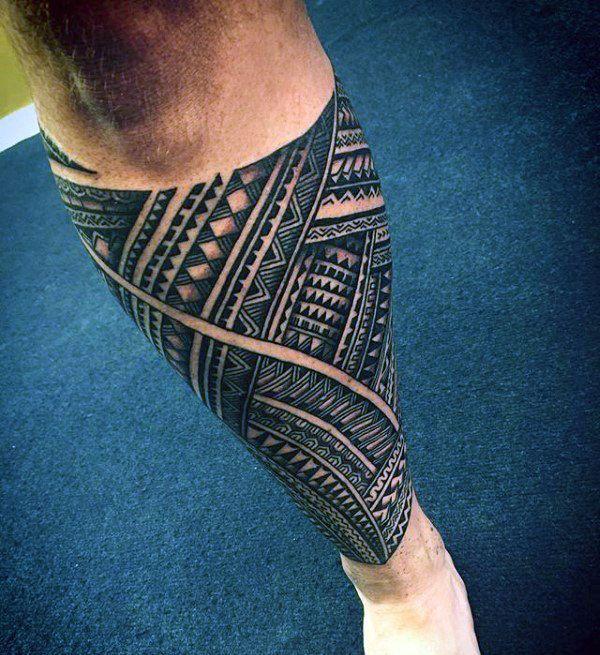 90 Samoan Tattoo Designs For Men Tribal Ink Ideas Tattoo