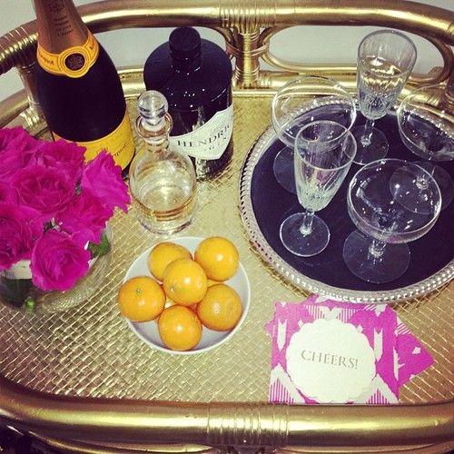 Elegant Bar Cart: Bar Sets, Minis Bar, Shoots Inspiration, S'More Bar, Shoots Prep, Bar Carts, Elegant Bar, Glitterguid Photos, Beautiful Shoots