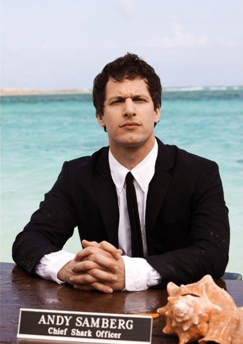 Andy Samberg!  CuTie & I love a Man that can make me LauGH!!