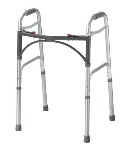 Junior, Deluxe Folding Walker, Two Button by Drive Medical. $163.56