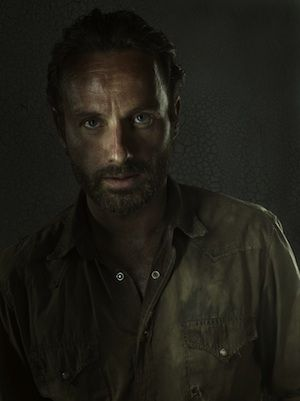 The Walking Dead's leading actor Andrew Lincoln who plays the part of the Sheriff Rick Grimes and he is great...!