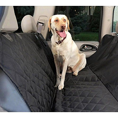 Pet Car Seat Cover With Anchors For CarsTrucks And SuvsPadded NonSlip Fabric578x