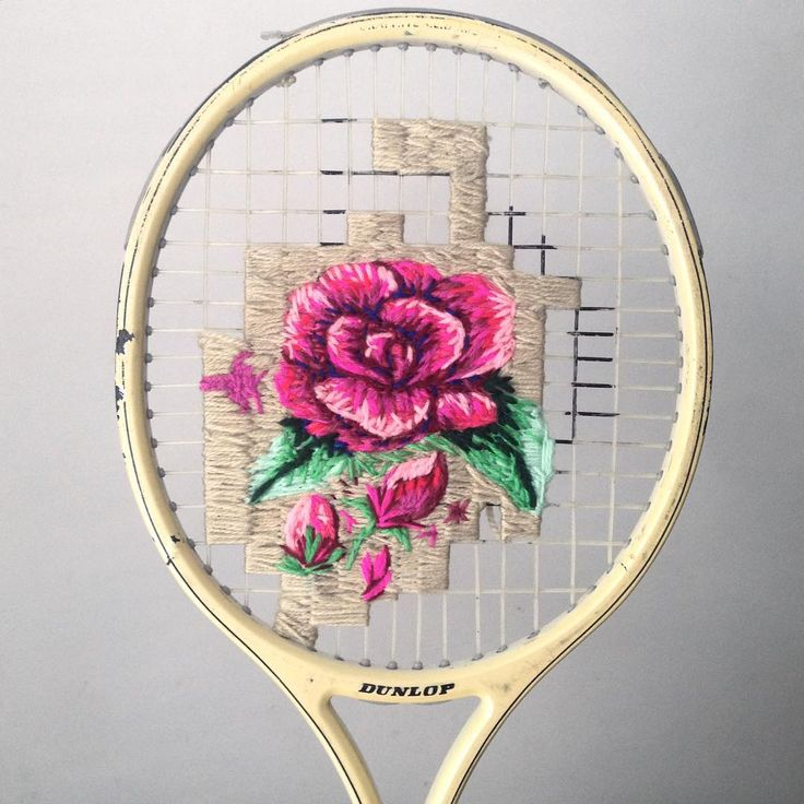 Amazing wool embroidery by Danielle Clough
