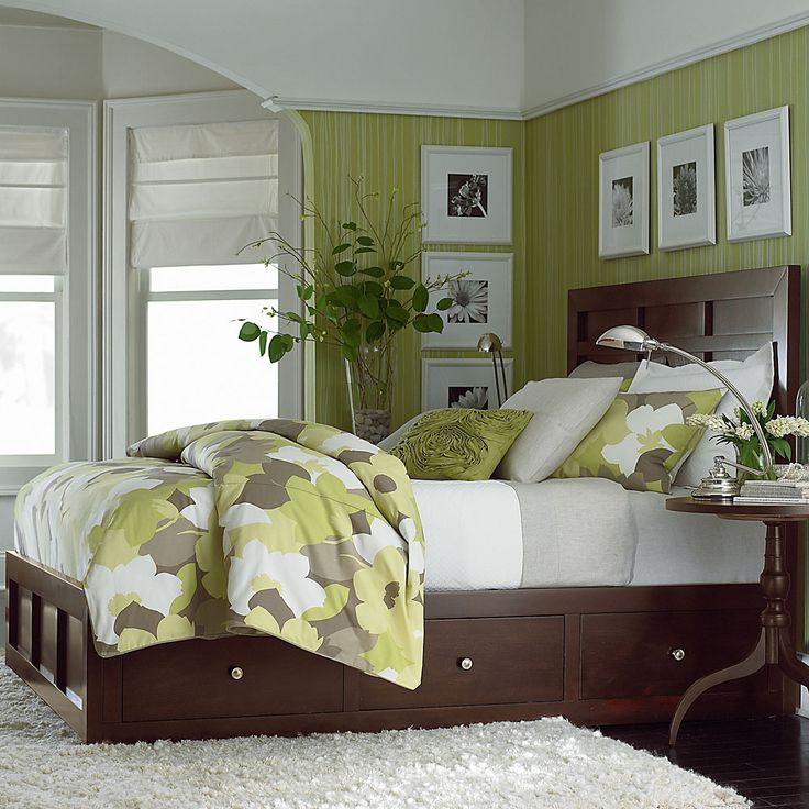 Best 25 green brown bedrooms ideas on pinterest green living room furniture green bedroom - Brown and green bedroom ...