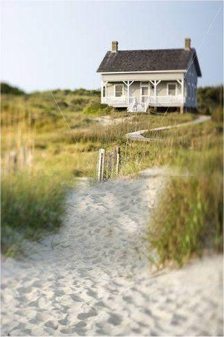 Is dit een mooie plek om te schrijven of is dit een mooie plek om te schrijven - Beach Cottage