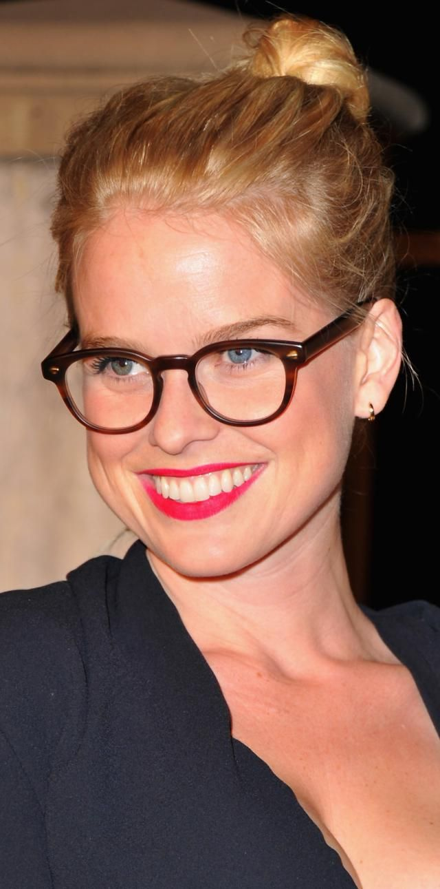 My Favorite Glasses That Aren't Black: Alice Eve