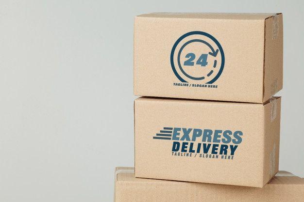 Download Paper Cardboard Boxes Mockup Template For Your Design Box Mockup Mockup Template Stationery Branding