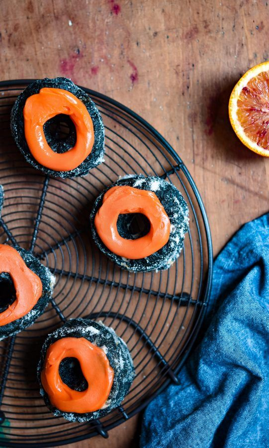 Charcoal & Blood Orange Cronuts   Patisserie Makes Perfect