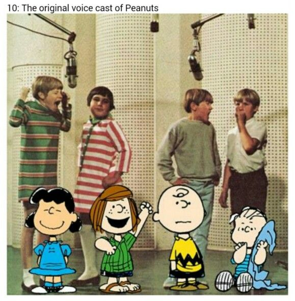 Though it should be noted that the Peppermint Patty character did not appear in the earliest Charlie Brown films or television specials.