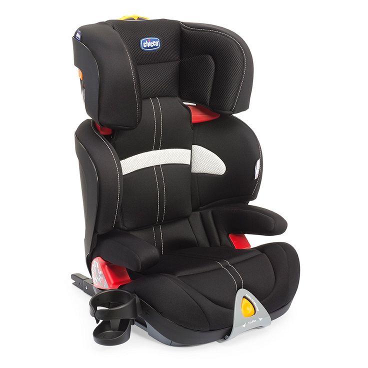La silla de auto Oasys 2-3 con FixPlus está homologada según la normativa ECE R44/04 para el transporte de niños de 15 a 36 kg (Grupo 2-3); de 3 a 12 años aproximadamente.