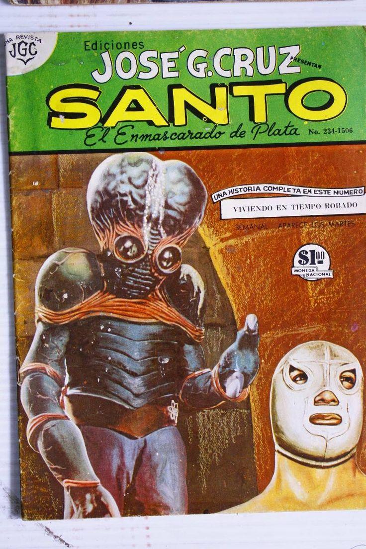 """Historieta """"Santo, el enmascarado de plata"""""""