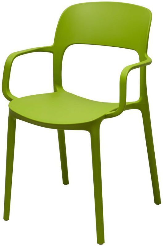 Стул Кресло Флекси зеленый пластик стулья и кресла из пластика пластиковые стулья 4ugla.com.ua
